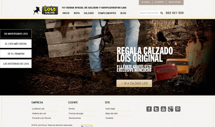 Lois Online en una de las versiones de 2012
