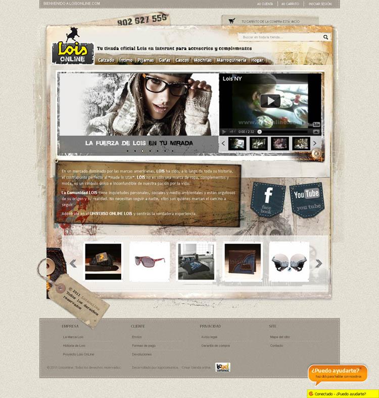 Primera beta de Lois Online en 2011